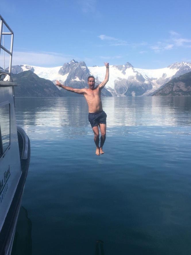 glacier jump